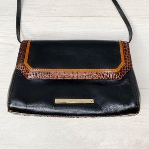 Brahmin | Black Leather Shoulder Bag